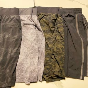 Lululemon Men's Shorts - Set of 4